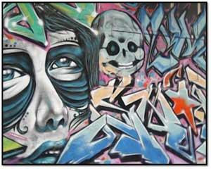 Contoh Street Art
