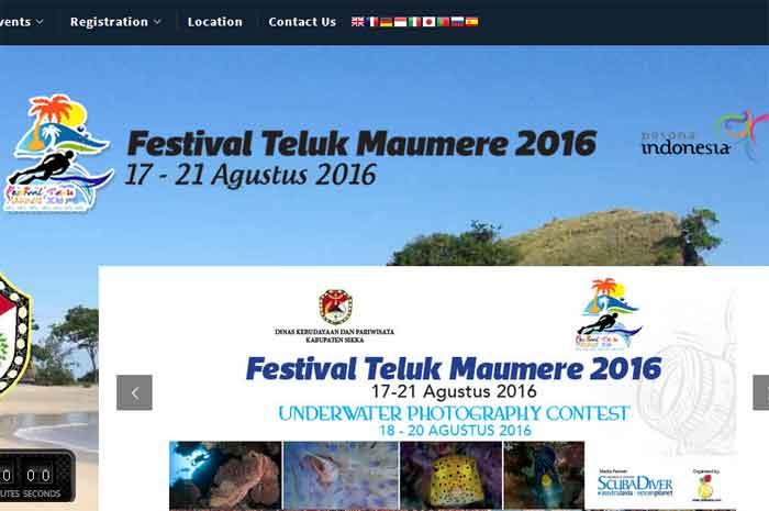 festival teluk maumere 2016