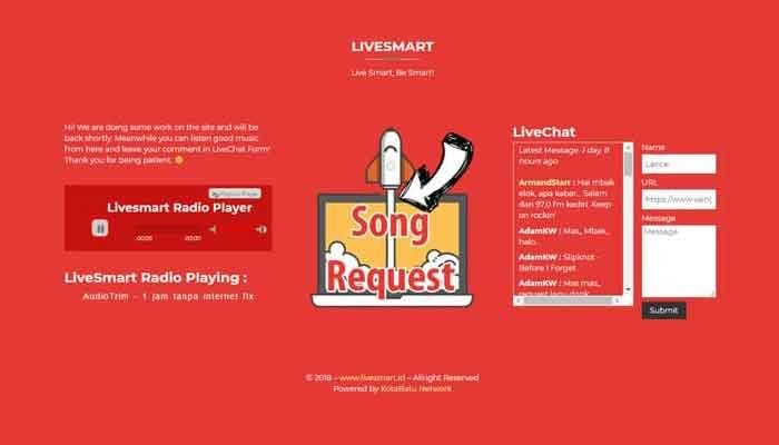 Livesmart Website Development