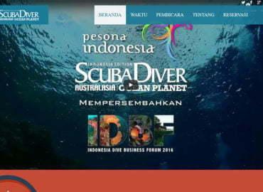 IDBF 2016 event profile website development